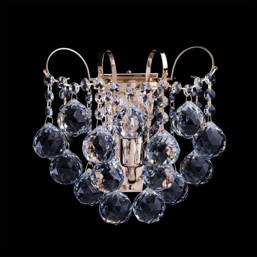 Aplica de perete cristal stil elegant PEARLS 232028101 MW, Aplice de perete moderne, Corpuri de iluminat, lustre, aplice, veioze, lampadare, plafoniere. Mobilier si decoratiuni, oglinzi, scaune, fotolii. Oferte speciale iluminat interior si exterior. Livram in toata tara.  a