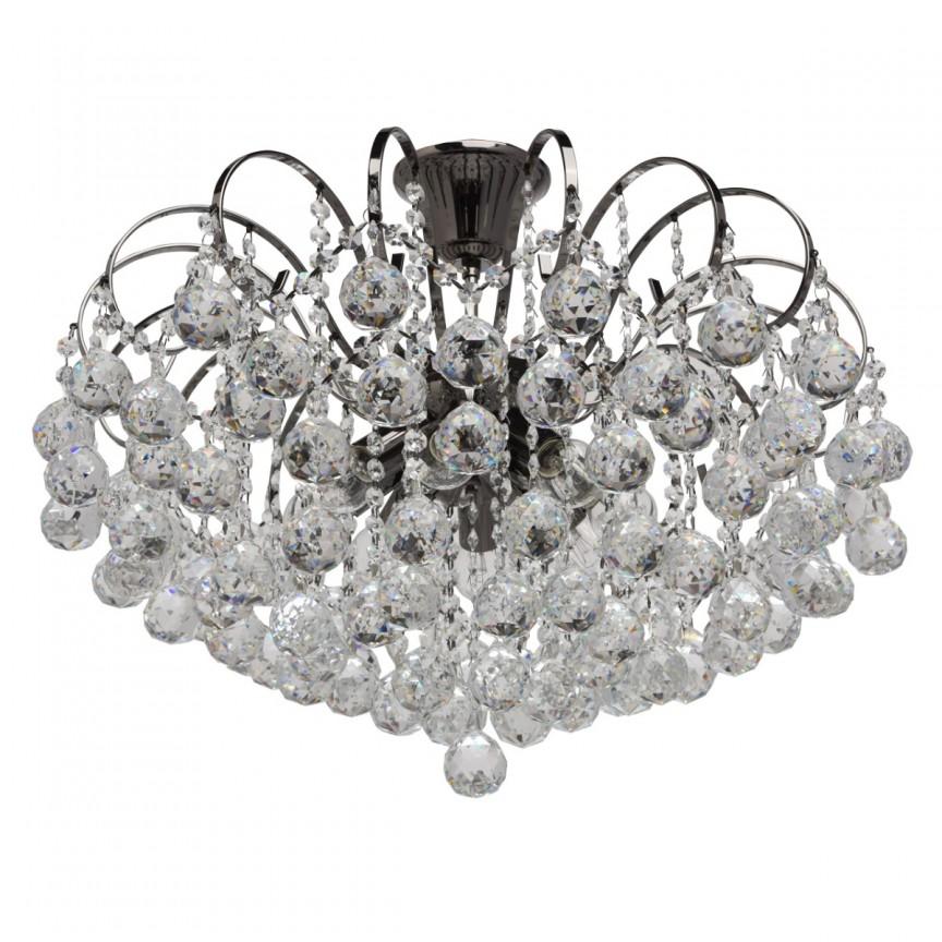Lustra cristal design elegant Ø58cm PEARLS 232016608 MW, Lustre moderne aplicate, Corpuri de iluminat, lustre, aplice, veioze, lampadare, plafoniere. Mobilier si decoratiuni, oglinzi, scaune, fotolii. Oferte speciale iluminat interior si exterior. Livram in toata tara.  a