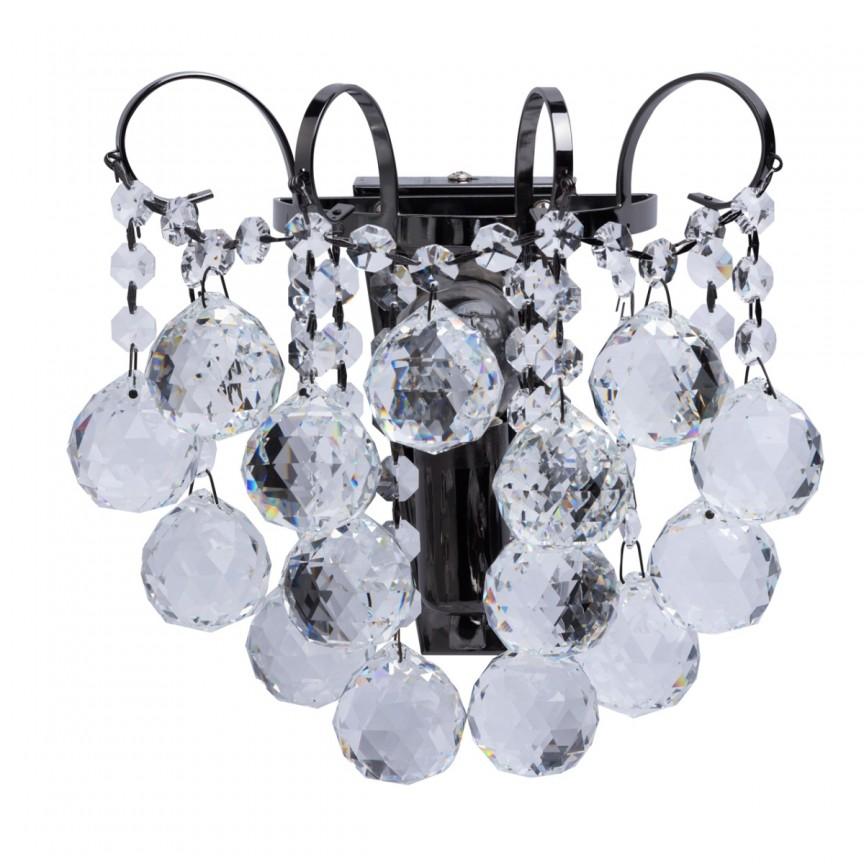 Aplica de perete cristal design elegant PEARLS 232027901 MW, Aplice de perete moderne, Corpuri de iluminat, lustre, aplice, veioze, lampadare, plafoniere. Mobilier si decoratiuni, oglinzi, scaune, fotolii. Oferte speciale iluminat interior si exterior. Livram in toata tara.  a