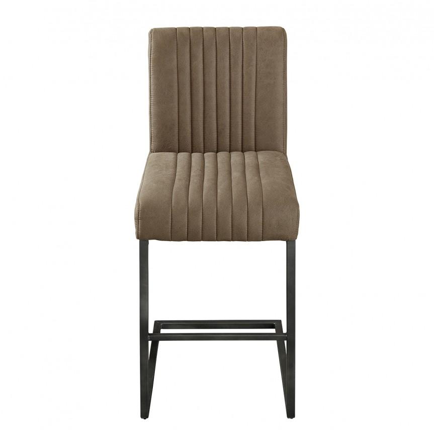 Set 2 scaune de bar Big Aston taupe A-39056 VC, Scaune de bar, Corpuri de iluminat, lustre, aplice, veioze, lampadare, plafoniere. Mobilier si decoratiuni, oglinzi, scaune, fotolii. Oferte speciale iluminat interior si exterior. Livram in toata tara.  a