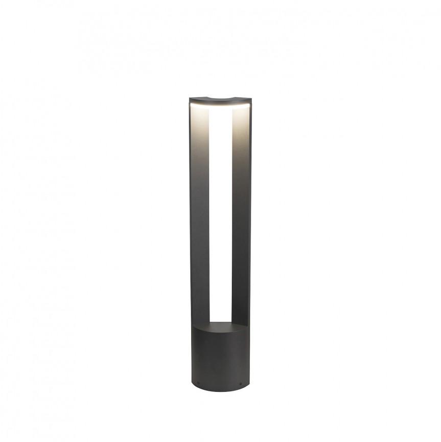 Stalp LED iluminat exterior IP54 Wallowa H-78cm 7968 RX, Stalpi de iluminat exterior mici si medii , Corpuri de iluminat, lustre, aplice, veioze, lampadare, plafoniere. Mobilier si decoratiuni, oglinzi, scaune, fotolii. Oferte speciale iluminat interior si exterior. Livram in toata tara.  a