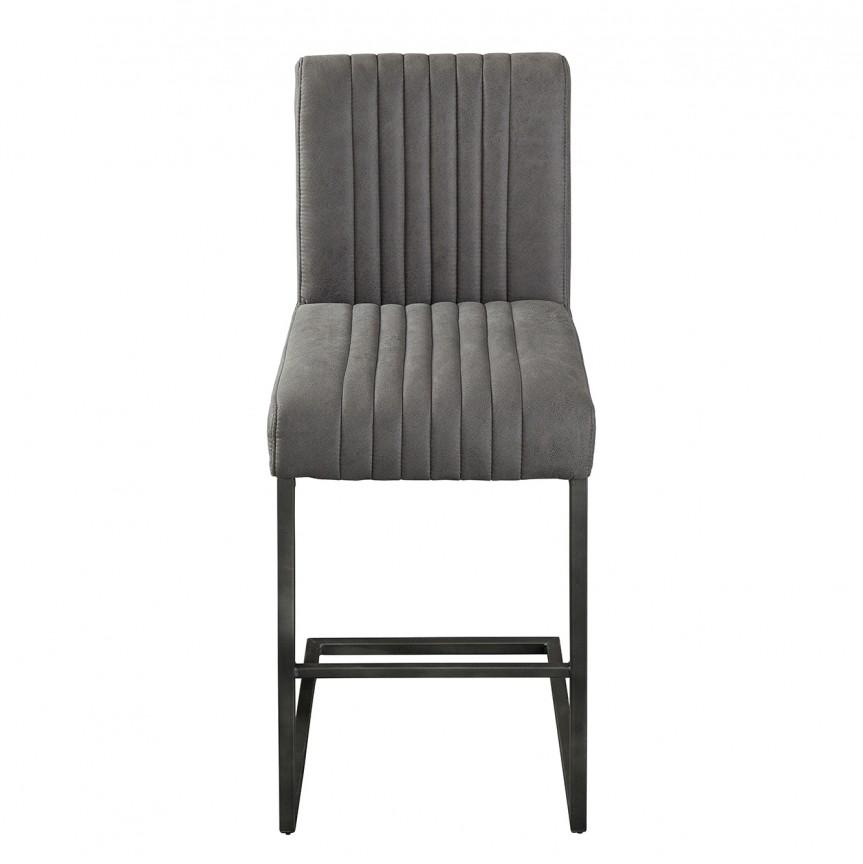 Set 2 scaune de bar Big Aston gri antic A-39057 VC, Scaune de bar, Corpuri de iluminat, lustre, aplice, veioze, lampadare, plafoniere. Mobilier si decoratiuni, oglinzi, scaune, fotolii. Oferte speciale iluminat interior si exterior. Livram in toata tara.  a