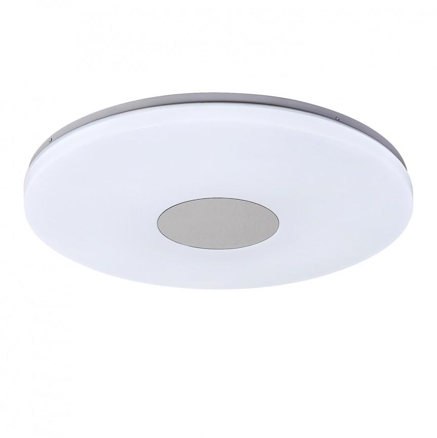 Plafoniera LED cu telecomanda Ø45cm Nolan 1428 RX, Lampi LED si Telecomanda, Corpuri de iluminat, lustre, aplice, veioze, lampadare, plafoniere. Mobilier si decoratiuni, oglinzi, scaune, fotolii. Oferte speciale iluminat interior si exterior. Livram in toata tara.  a