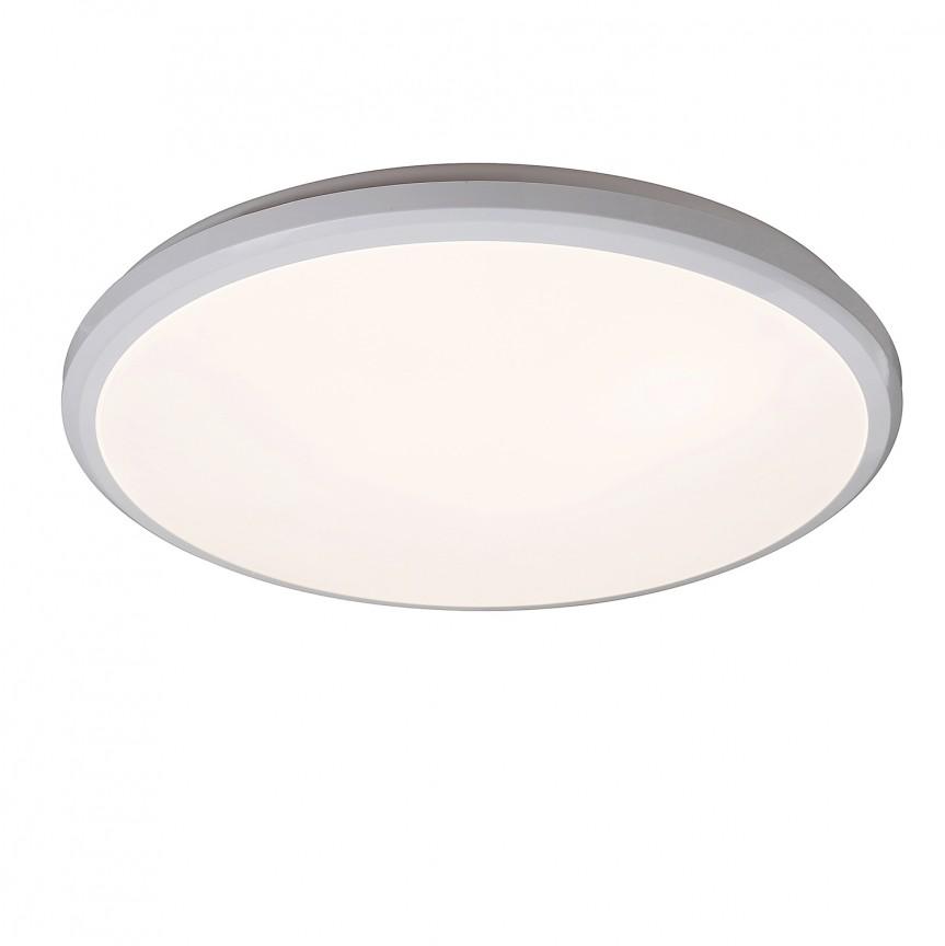 Plafoniera LED pentru baie Ø31,5cm IP65 Brandon 1429 RX, Plafoniere cu protectie pentru baie, Corpuri de iluminat, lustre, aplice, veioze, lampadare, plafoniere. Mobilier si decoratiuni, oglinzi, scaune, fotolii. Oferte speciale iluminat interior si exterior. Livram in toata tara.  a