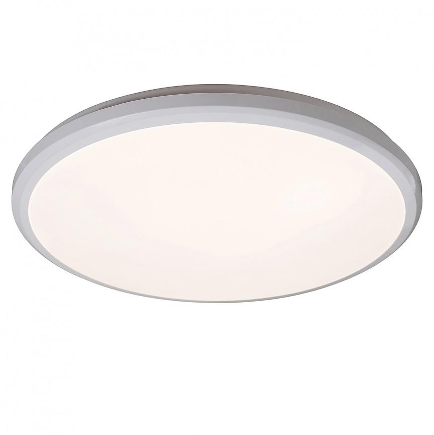 Plafoniera LED pentru baie Ø37,5cm IP65 Brandon 1430 RX, Plafoniere cu protectie pentru baie, Corpuri de iluminat, lustre, aplice, veioze, lampadare, plafoniere. Mobilier si decoratiuni, oglinzi, scaune, fotolii. Oferte speciale iluminat interior si exterior. Livram in toata tara.  a