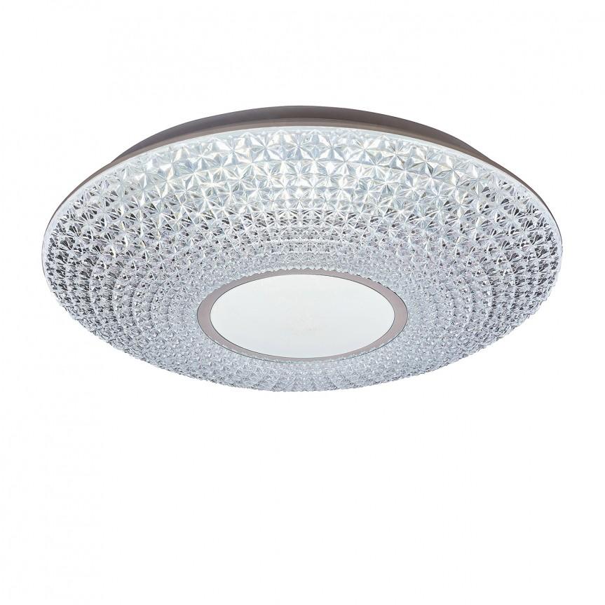 Plafoniera LED cu telecomanda Ø41cm Coralia 1518 RX, Lampi LED si Telecomanda, Corpuri de iluminat, lustre, aplice, veioze, lampadare, plafoniere. Mobilier si decoratiuni, oglinzi, scaune, fotolii. Oferte speciale iluminat interior si exterior. Livram in toata tara.  a