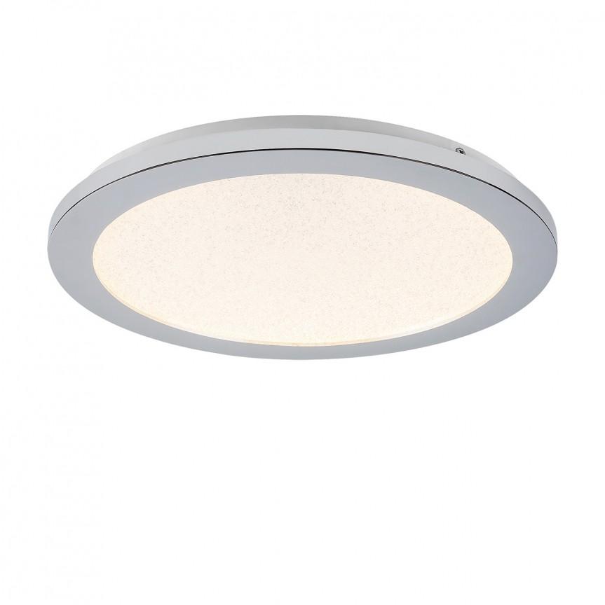 Plafoniera LED pentru baie IP44 Ø30cm Jeremy 5207 RX, Plafoniere cu protectie pentru baie, Corpuri de iluminat, lustre, aplice, veioze, lampadare, plafoniere. Mobilier si decoratiuni, oglinzi, scaune, fotolii. Oferte speciale iluminat interior si exterior. Livram in toata tara.  a