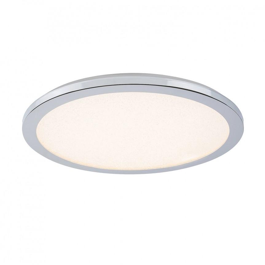 Plafoniera LED pentru baie IP44 Ø40cm Jeremy 5208 RX, Plafoniere cu protectie pentru baie, Corpuri de iluminat, lustre, aplice, veioze, lampadare, plafoniere. Mobilier si decoratiuni, oglinzi, scaune, fotolii. Oferte speciale iluminat interior si exterior. Livram in toata tara.  a