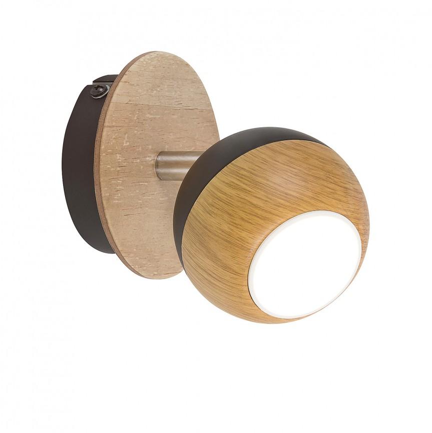 Aplica cu spot design minimalist Arthur 5613 RX, Aplice de perete simple, Corpuri de iluminat, lustre, aplice, veioze, lampadare, plafoniere. Mobilier si decoratiuni, oglinzi, scaune, fotolii. Oferte speciale iluminat interior si exterior. Livram in toata tara.  a