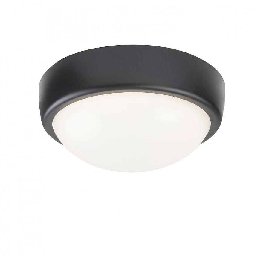 Aplica LED exterior perete/tavan IP54 Boris 5621 RX, Plafoniere de exterior, Corpuri de iluminat, lustre, aplice, veioze, lampadare, plafoniere. Mobilier si decoratiuni, oglinzi, scaune, fotolii. Oferte speciale iluminat interior si exterior. Livram in toata tara.  a