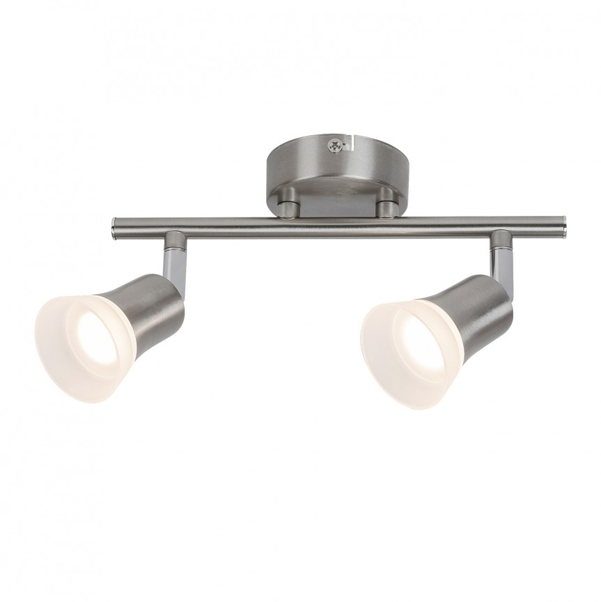 Plafoniera LED cu 2 spoturi directionabile Riley 5627 RX, Spoturi - iluminat - cu 2 spoturi, Corpuri de iluminat, lustre, aplice, veioze, lampadare, plafoniere. Mobilier si decoratiuni, oglinzi, scaune, fotolii. Oferte speciale iluminat interior si exterior. Livram in toata tara.  a