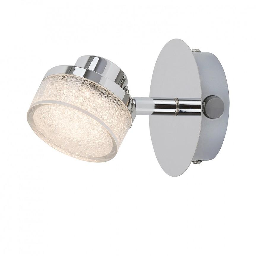 Aplica perete LED design minimalist Padma 5635 RX, Spoturi - iluminat - cu 1 spot, Corpuri de iluminat, lustre, aplice, veioze, lampadare, plafoniere. Mobilier si decoratiuni, oglinzi, scaune, fotolii. Oferte speciale iluminat interior si exterior. Livram in toata tara.  a