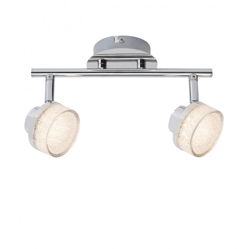 Plafoniera LED cu 2 spoturi directionabile Padma 5636 RX, Spoturi - iluminat - cu 2 spoturi, Corpuri de iluminat, lustre, aplice, veioze, lampadare, plafoniere. Mobilier si decoratiuni, oglinzi, scaune, fotolii. Oferte speciale iluminat interior si exterior. Livram in toata tara.  a