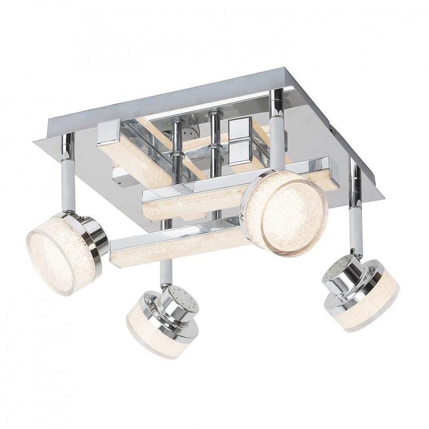 Plafoniera LED design modern Padma 5638 RX, Plafoniere LED, Spoturi LED, Corpuri de iluminat, lustre, aplice, veioze, lampadare, plafoniere. Mobilier si decoratiuni, oglinzi, scaune, fotolii. Oferte speciale iluminat interior si exterior. Livram in toata tara.  a