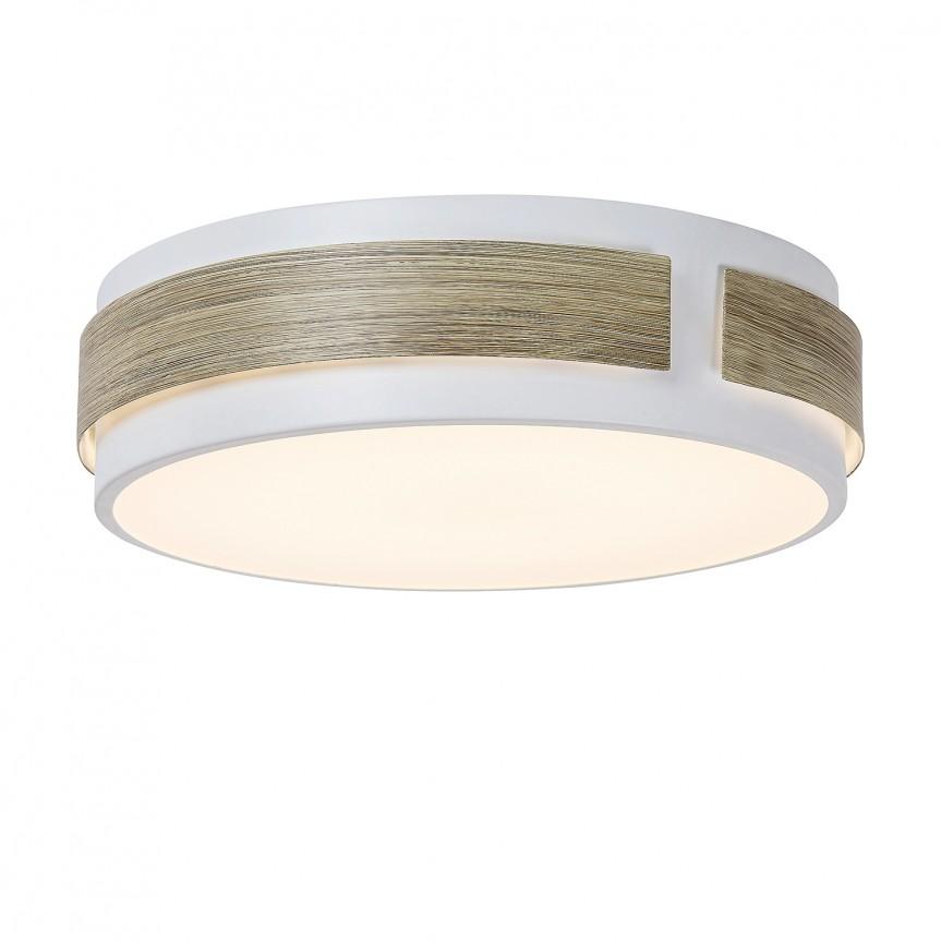 Plafoniera LED moderna Ø36cm Salma 5645 RX, Plafoniere LED, Spoturi LED, Corpuri de iluminat, lustre, aplice, veioze, lampadare, plafoniere. Mobilier si decoratiuni, oglinzi, scaune, fotolii. Oferte speciale iluminat interior si exterior. Livram in toata tara.  a