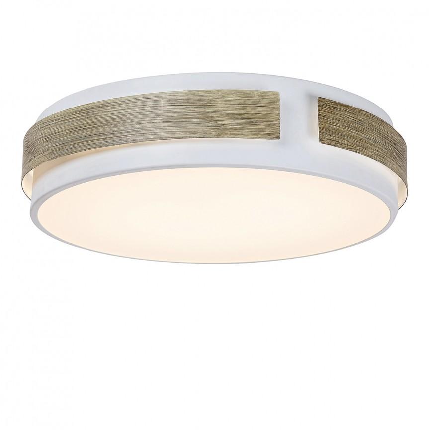 Plafoniera LED moderna Ø42cm Salma 5646 RX, Plafoniere LED, Spoturi LED, Corpuri de iluminat, lustre, aplice, veioze, lampadare, plafoniere. Mobilier si decoratiuni, oglinzi, scaune, fotolii. Oferte speciale iluminat interior si exterior. Livram in toata tara.  a