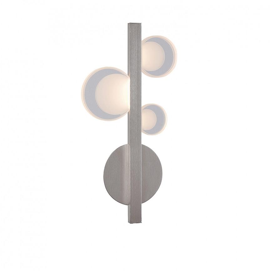 Aplica perete LED design modern Lorraine 5654 RX, Aplice de perete LED, Corpuri de iluminat, lustre, aplice, veioze, lampadare, plafoniere. Mobilier si decoratiuni, oglinzi, scaune, fotolii. Oferte speciale iluminat interior si exterior. Livram in toata tara.  a
