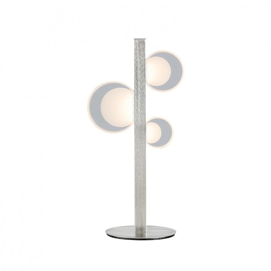 Lampa de masa LED design modern Lorraine 5656 RX, Veioze LED, Lampadare LED, Corpuri de iluminat, lustre, aplice, veioze, lampadare, plafoniere. Mobilier si decoratiuni, oglinzi, scaune, fotolii. Oferte speciale iluminat interior si exterior. Livram in toata tara.  a