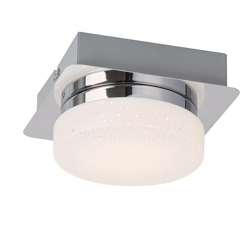 Mini Plafoniera LED design minimalist Hilary 5661 RX, Plafoniere LED, Spoturi LED, Corpuri de iluminat, lustre, aplice, veioze, lampadare, plafoniere. Mobilier si decoratiuni, oglinzi, scaune, fotolii. Oferte speciale iluminat interior si exterior. Livram in toata tara.  a