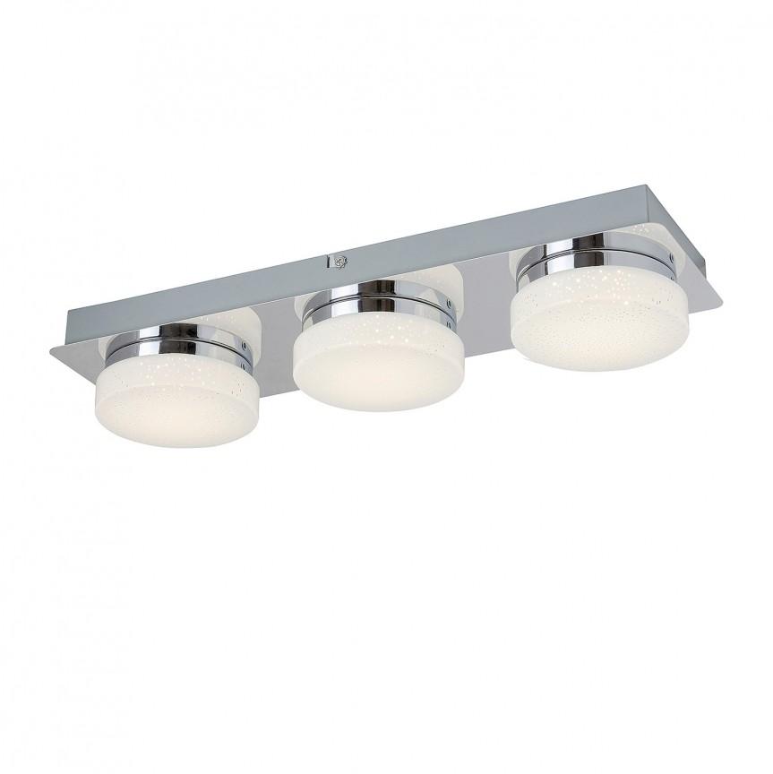 Plafoniera LED design minimalist Hilary 3 5663 RX, Plafoniere LED, Spoturi LED, Corpuri de iluminat, lustre, aplice, veioze, lampadare, plafoniere. Mobilier si decoratiuni, oglinzi, scaune, fotolii. Oferte speciale iluminat interior si exterior. Livram in toata tara.  a