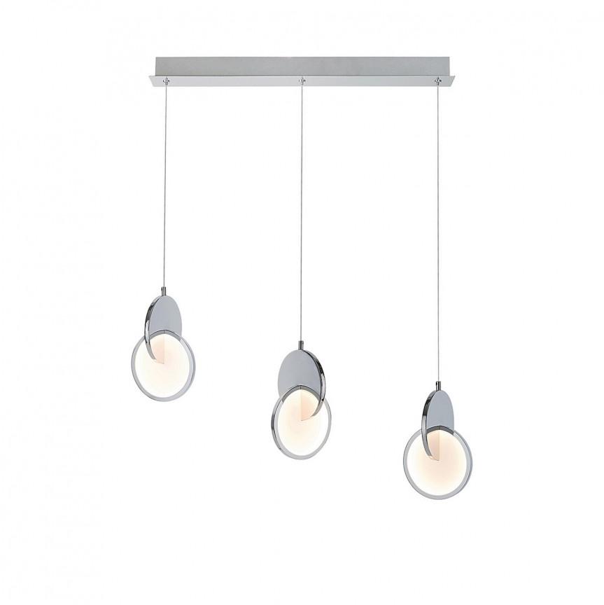 Lustra LED design modern Assana 5670 RX, Pendule, Lustre suspendate, Corpuri de iluminat, lustre, aplice, veioze, lampadare, plafoniere. Mobilier si decoratiuni, oglinzi, scaune, fotolii. Oferte speciale iluminat interior si exterior. Livram in toata tara.  a