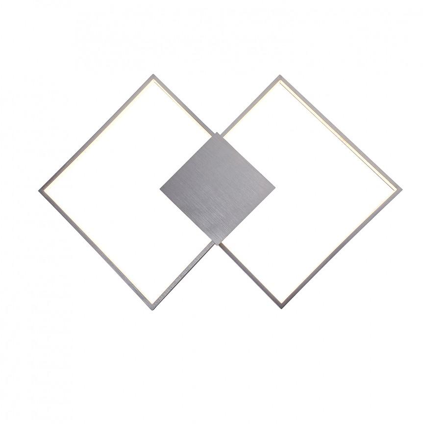 Aplica LED moderna design XXL geometric Andrei 5676 RX, Aplice de perete LED, Corpuri de iluminat, lustre, aplice, veioze, lampadare, plafoniere. Mobilier si decoratiuni, oglinzi, scaune, fotolii. Oferte speciale iluminat interior si exterior. Livram in toata tara.  a