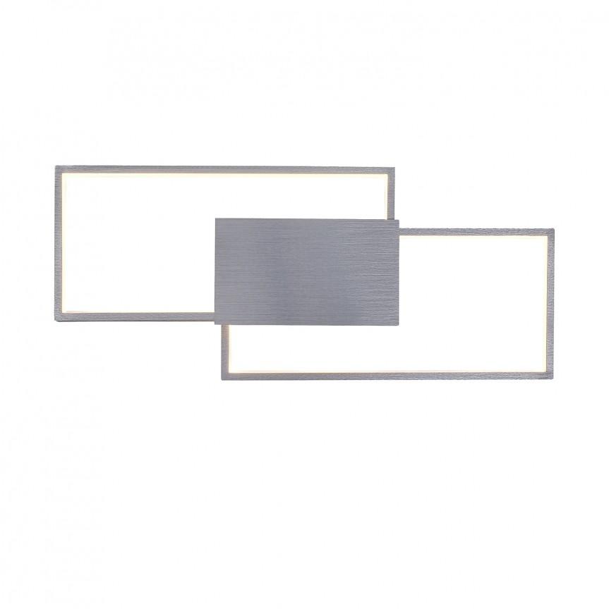 Aplica LED moderna design XXL geometric Andrei 5678 RX, Aplice de perete LED, Corpuri de iluminat, lustre, aplice, veioze, lampadare, plafoniere. Mobilier si decoratiuni, oglinzi, scaune, fotolii. Oferte speciale iluminat interior si exterior. Livram in toata tara.  a