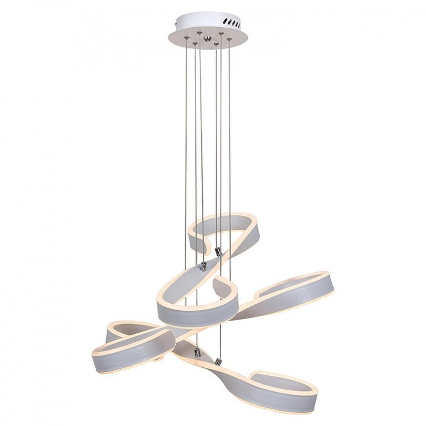 Lustra LED design modern Jayden 5680 RX, Pendule, Lustre suspendate, Corpuri de iluminat, lustre, aplice, veioze, lampadare, plafoniere. Mobilier si decoratiuni, oglinzi, scaune, fotolii. Oferte speciale iluminat interior si exterior. Livram in toata tara.  a
