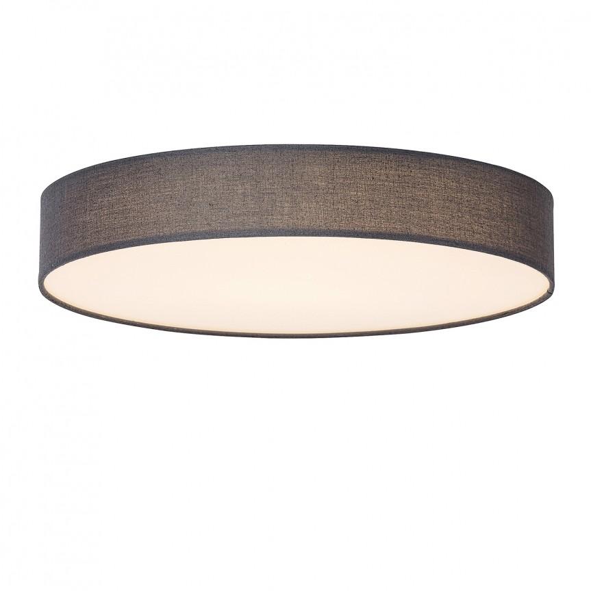 Plafoniera LED design modern Ø40cm Artemis gri 5681 RX, Plafoniere LED, Spoturi LED, Corpuri de iluminat, lustre, aplice, veioze, lampadare, plafoniere. Mobilier si decoratiuni, oglinzi, scaune, fotolii. Oferte speciale iluminat interior si exterior. Livram in toata tara.  a