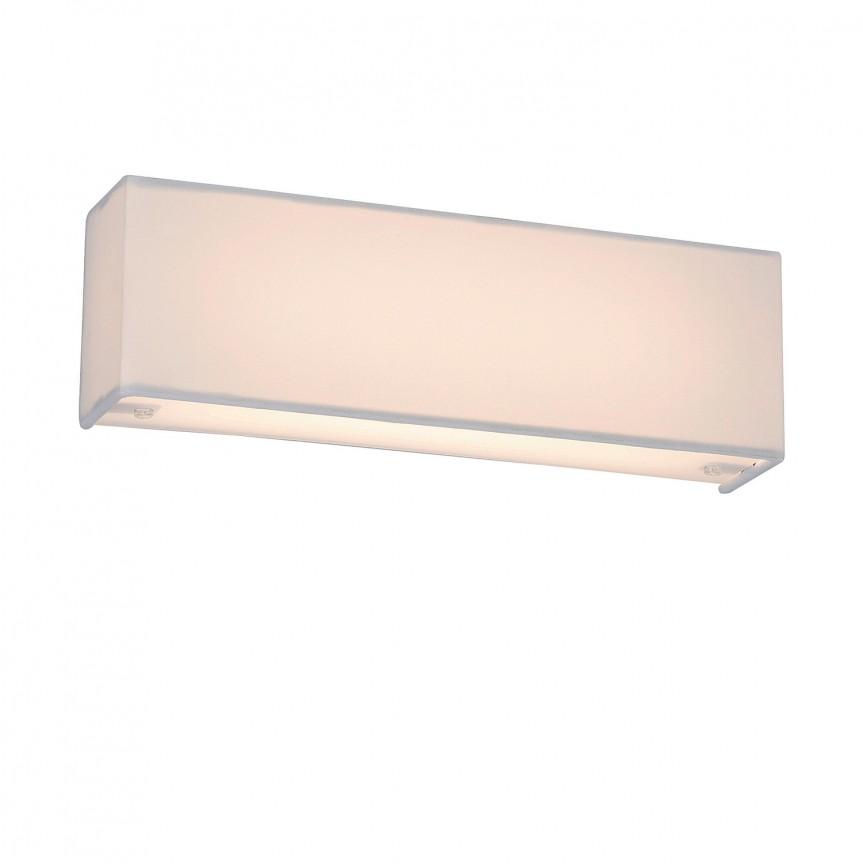 Aplica perete LED design modern Morpheus alba 5686 RX, Aplice de perete LED, Corpuri de iluminat, lustre, aplice, veioze, lampadare, plafoniere. Mobilier si decoratiuni, oglinzi, scaune, fotolii. Oferte speciale iluminat interior si exterior. Livram in toata tara.  a