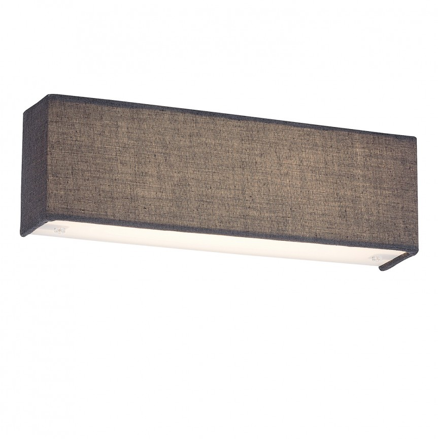 Aplica perete LED design modern Morpheus gri 5685 RX, Aplice de perete moderne, Corpuri de iluminat, lustre, aplice, veioze, lampadare, plafoniere. Mobilier si decoratiuni, oglinzi, scaune, fotolii. Oferte speciale iluminat interior si exterior. Livram in toata tara.  a