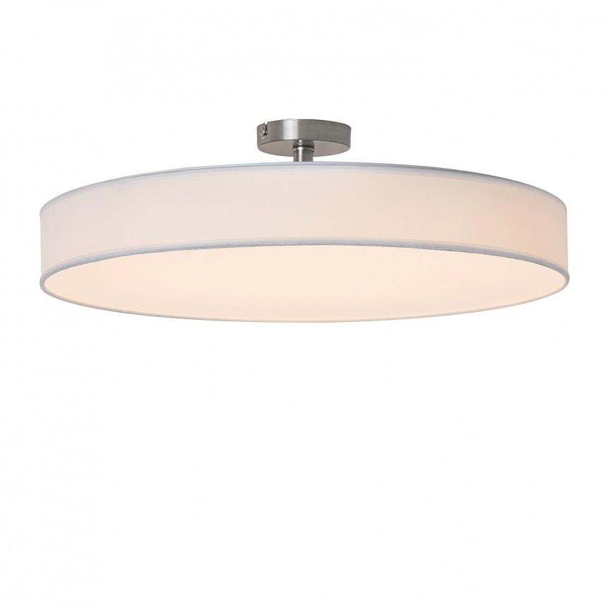 Lustra LED aplicata design modern Ø50cm Helios alba 5689 RX, Plafoniere LED, Spoturi LED, Corpuri de iluminat, lustre, aplice, veioze, lampadare, plafoniere. Mobilier si decoratiuni, oglinzi, scaune, fotolii. Oferte speciale iluminat interior si exterior. Livram in toata tara.  a