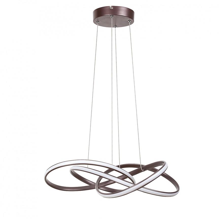 Lustra LED suspendata design modern Ambrosio 5692 RX, Pendule, Lustre suspendate, Corpuri de iluminat, lustre, aplice, veioze, lampadare, plafoniere. Mobilier si decoratiuni, oglinzi, scaune, fotolii. Oferte speciale iluminat interior si exterior. Livram in toata tara.  a