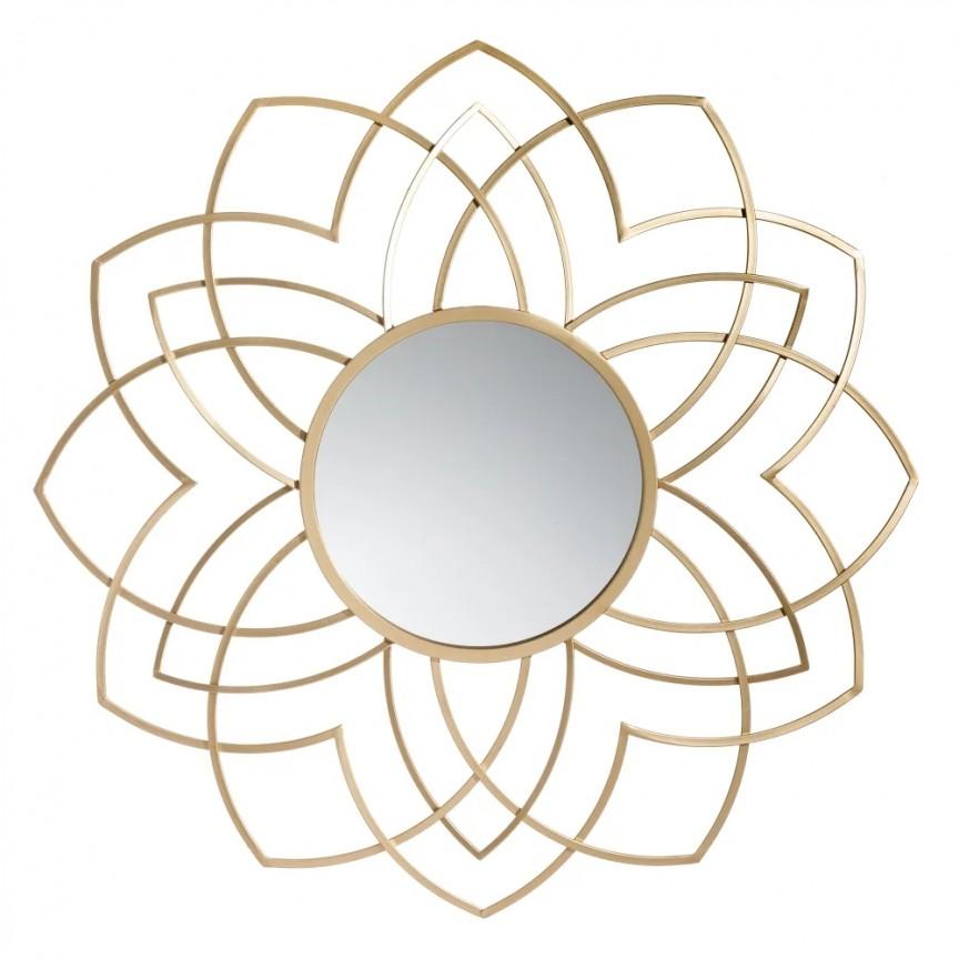 Oglinda decorativa Oro, 91,5cm SX-151463, Oglinzi decorative , moderne✅ decoratiuni de perete cu oglinda⭐ modele mari si rotunde pentru Hol, Living, Dormitor si Baie.❤️Promotii la oglinzi cu design decorativ❗ Intra si vezi poze ✚ pret ➽ www.evalight.ro. ➽ sursa ta de inspiratie online❗ Alege oglinzi deosebite Art Deco de lux pentru decorare casa, fabricate de branduri renumite. Aici gasesti cele mai frumoase si rafinate obiecte de decor cu stil contemporan unicat, oglinzi elegante cu suport de prindere pe perete, de masa sau de podea potrivite pt dresing, cu rama din metal cu aspect antichizat sau lemn de culoare aurie, sticla argintie in diferite forme: oglinzi in forma de soare, hexagonale tip fagure hexagon, ovale, patrate mici, rectangulara sau dreptunghiulara, design original exclusivist: industrial style, retro, vintage (produse manual handmade), scandinav nordic, clasic, baroc, glamour, romantic, rustic, minimalist. Tendinte si idei actuale de designer pentru amenajari interioare premium Top 2020❗ Oferte si reduceri speciale cu vanzare rapida din stoc, oglinzi de calitate la cel mai bun pret. a