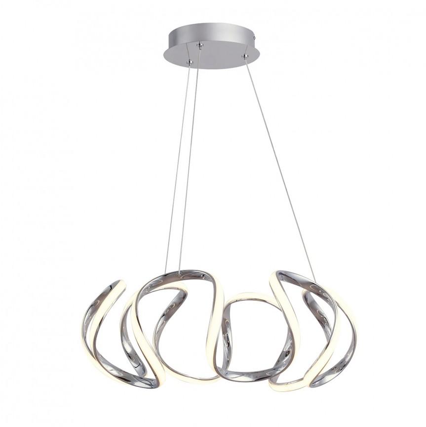 Lustra LED suspendata design modern Palmira 5770 RX, Pendule, Lustre suspendate, Corpuri de iluminat, lustre, aplice, veioze, lampadare, plafoniere. Mobilier si decoratiuni, oglinzi, scaune, fotolii. Oferte speciale iluminat interior si exterior. Livram in toata tara.  a