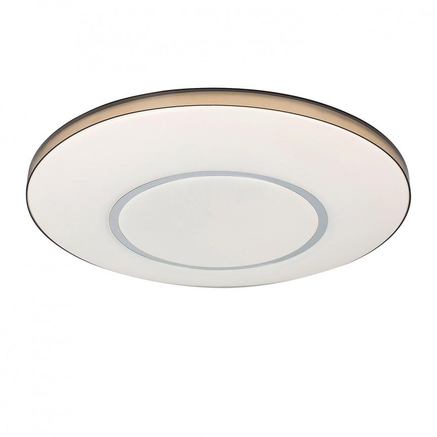 Plafoniera LED cu telecomanda Elbert 5695 RX, Lampi LED si Telecomanda, Corpuri de iluminat, lustre, aplice, veioze, lampadare, plafoniere. Mobilier si decoratiuni, oglinzi, scaune, fotolii. Oferte speciale iluminat interior si exterior. Livram in toata tara.  a