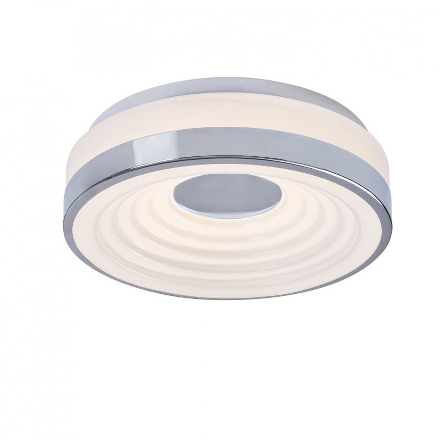 Plafoniera LED moderna Ø28cm Polina 5696 RX, Plafoniere LED, Spoturi LED, Corpuri de iluminat, lustre, aplice, veioze, lampadare, plafoniere. Mobilier si decoratiuni, oglinzi, scaune, fotolii. Oferte speciale iluminat interior si exterior. Livram in toata tara.  a