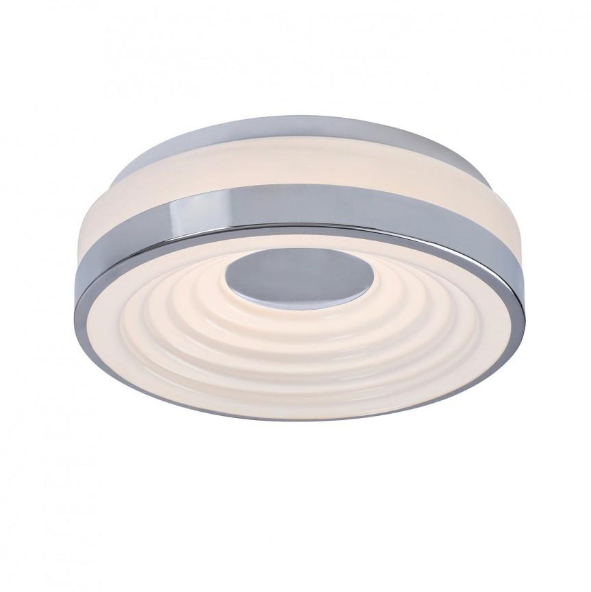 Plafoniera LED moderna Ø38cm Polina 5697 RX, Plafoniere LED, Spoturi LED, Corpuri de iluminat, lustre, aplice, veioze, lampadare, plafoniere. Mobilier si decoratiuni, oglinzi, scaune, fotolii. Oferte speciale iluminat interior si exterior. Livram in toata tara.  a