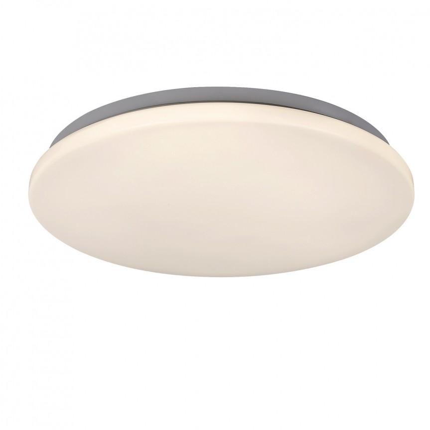 Plafoniera LED slim cu telecomanda Emmett 5698 RX, Lampi LED si Telecomanda, Corpuri de iluminat, lustre, aplice, veioze, lampadare, plafoniere. Mobilier si decoratiuni, oglinzi, scaune, fotolii. Oferte speciale iluminat interior si exterior. Livram in toata tara.  a