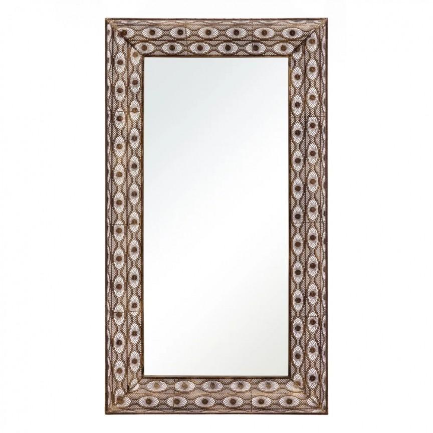 Oglinda design vintage ORO VIEJO, 90x160cm SX-152332, Oglinzi decorative,  a