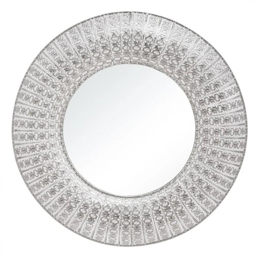 Oglinda design vintage PLATA, 110cm SX-151498, Oglinzi decorative,  a