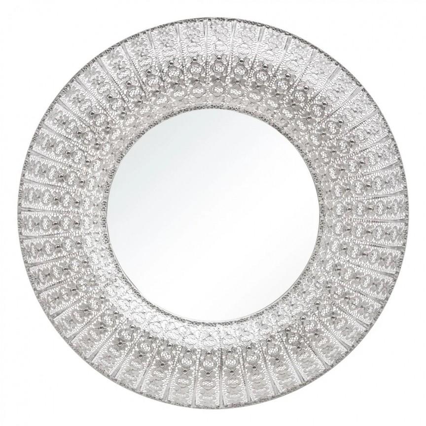 Oglinda design vintage PLATA, 90cm SX-151497, Oglinzi decorative,  a
