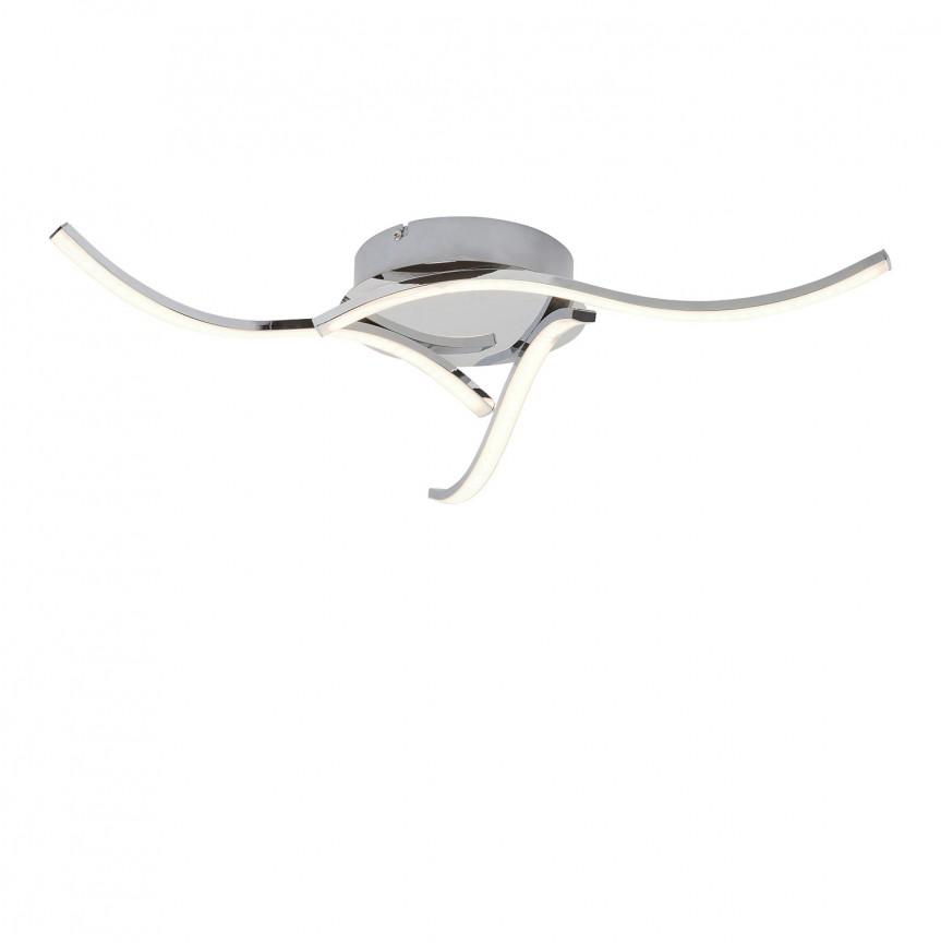 Lustra LED aplicata design modern Erin 5791 RX, Plafoniere LED, Spoturi LED, Corpuri de iluminat, lustre, aplice, veioze, lampadare, plafoniere. Mobilier si decoratiuni, oglinzi, scaune, fotolii. Oferte speciale iluminat interior si exterior. Livram in toata tara.  a