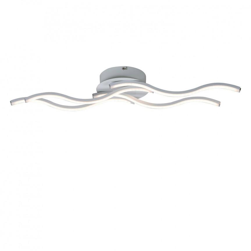 Lustra LED aplicata design modern Harriet 5793 RX, Lustre moderne aplicate, Corpuri de iluminat, lustre, aplice, veioze, lampadare, plafoniere. Mobilier si decoratiuni, oglinzi, scaune, fotolii. Oferte speciale iluminat interior si exterior. Livram in toata tara.  a