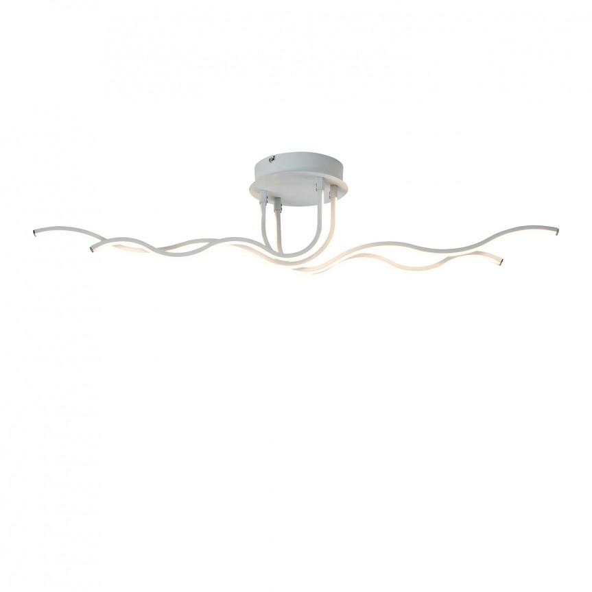 Lustra LED aplicata design modern Harriet 5794 RX, Lustre moderne aplicate, Corpuri de iluminat, lustre, aplice, veioze, lampadare, plafoniere. Mobilier si decoratiuni, oglinzi, scaune, fotolii. Oferte speciale iluminat interior si exterior. Livram in toata tara.  a