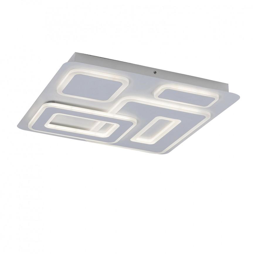 Plafoniera LED dimabila cu telecomanda Montelle 5859 RX, Plafoniere LED, Spoturi LED, Corpuri de iluminat, lustre, aplice, veioze, lampadare, plafoniere. Mobilier si decoratiuni, oglinzi, scaune, fotolii. Oferte speciale iluminat interior si exterior. Livram in toata tara.  a