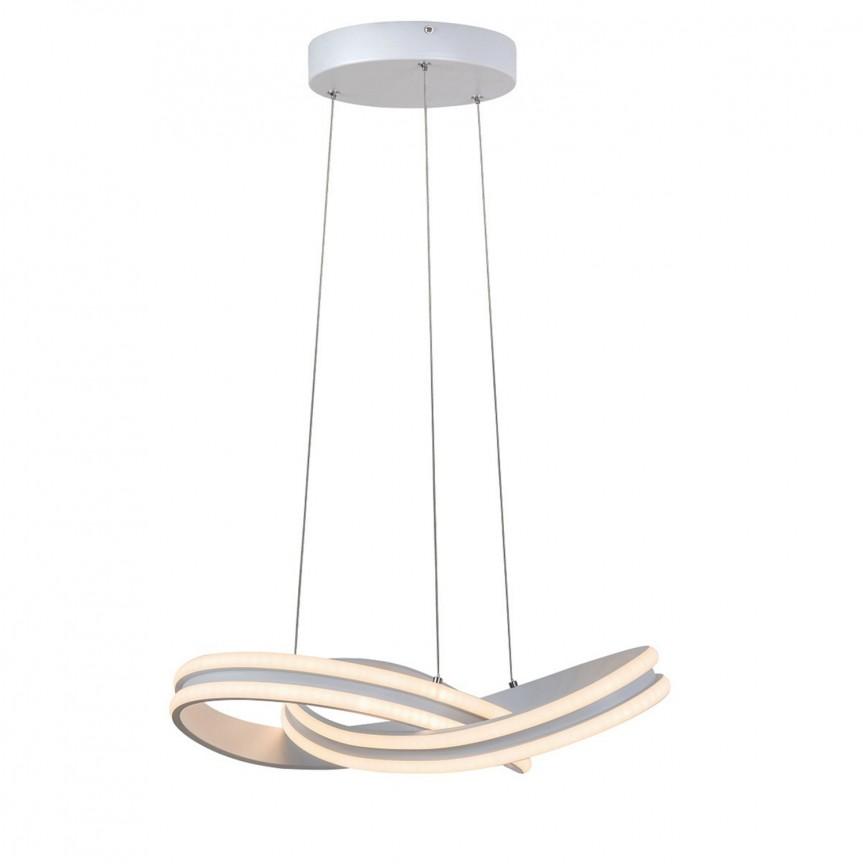 Lustra LED suspendata design modern Tulio 5891 RX, Pendule, Lustre suspendate, Corpuri de iluminat, lustre, aplice, veioze, lampadare, plafoniere. Mobilier si decoratiuni, oglinzi, scaune, fotolii. Oferte speciale iluminat interior si exterior. Livram in toata tara.  a