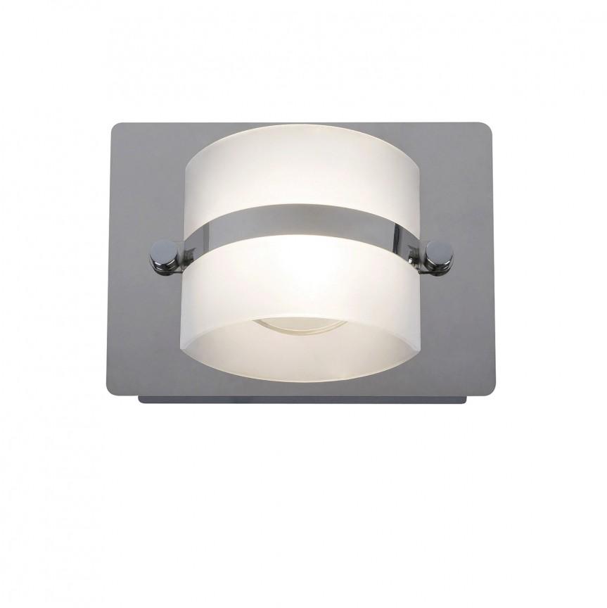 Aplica de perete LED moderna pentru baie IP44 Tony 5489 RX , Aplice pentru baie, oglinda, tablou, Corpuri de iluminat, lustre, aplice, veioze, lampadare, plafoniere. Mobilier si decoratiuni, oglinzi, scaune, fotolii. Oferte speciale iluminat interior si exterior. Livram in toata tara.  a