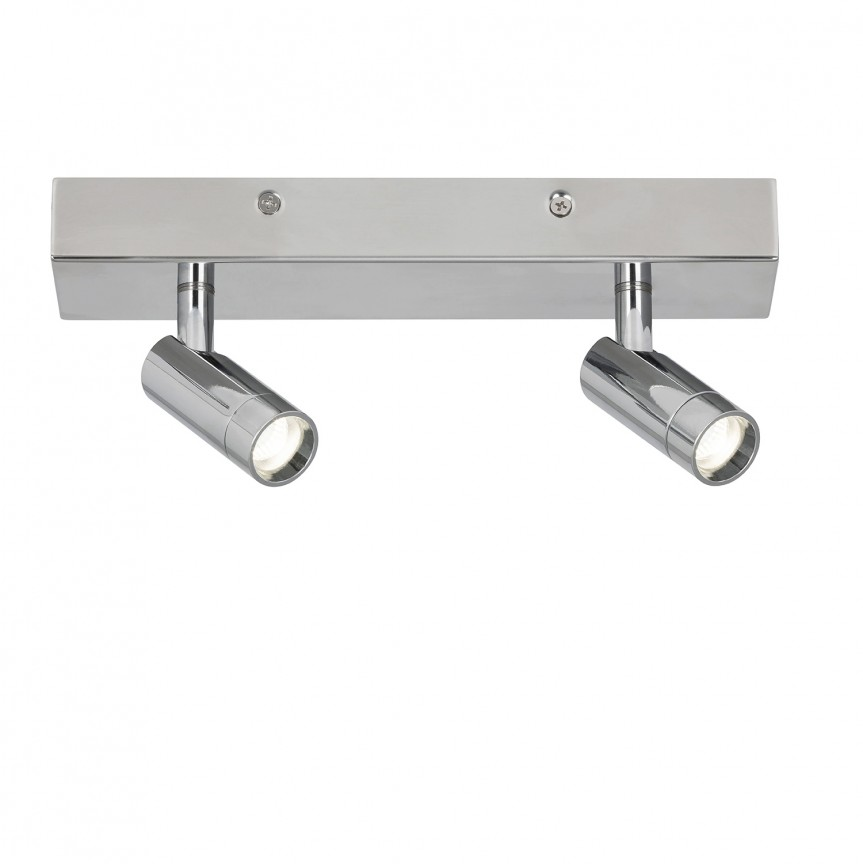 Plafoniera LED cu 2 spoturi directionabile pentru baie IP44 George 5494 RX , Spoturi - iluminat - cu 2 spoturi, Corpuri de iluminat, lustre, aplice, veioze, lampadare, plafoniere. Mobilier si decoratiuni, oglinzi, scaune, fotolii. Oferte speciale iluminat interior si exterior. Livram in toata tara.  a