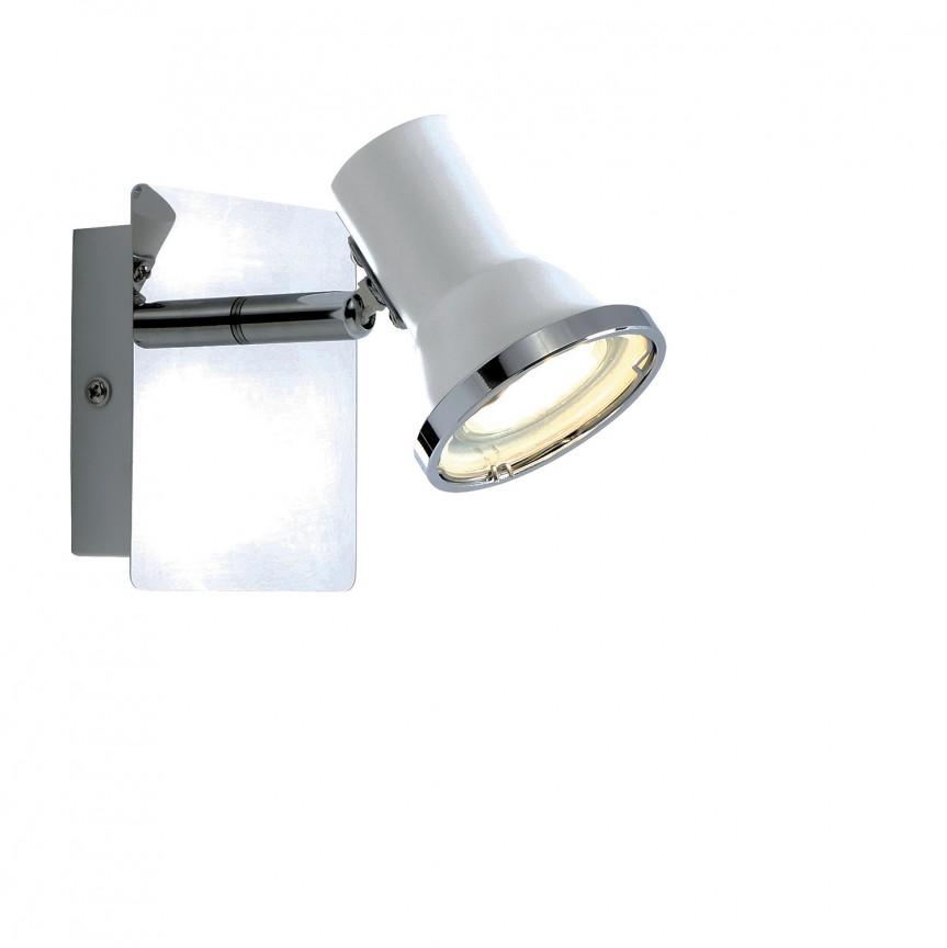 Aplica LED cu spot directionabil pentru baie IP44 Steve 5497 RX , Aplice pentru baie, oglinda, tablou, Corpuri de iluminat, lustre, aplice, veioze, lampadare, plafoniere. Mobilier si decoratiuni, oglinzi, scaune, fotolii. Oferte speciale iluminat interior si exterior. Livram in toata tara.  a